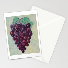 Grape Bunch Stationery Cards