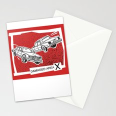 Left Car, Right Car Stationery Cards
