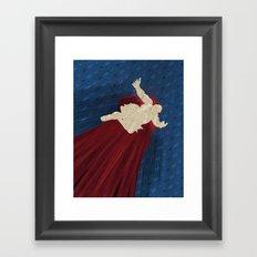 When Hondas Fly (Homage To Street Fighter's E. Honda) Framed Art Print