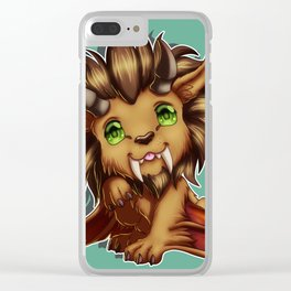 Grand Wyvern Clear iPhone Case