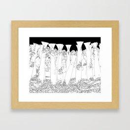 Last To Remain Framed Art Print