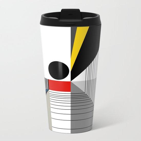 BLACK POINT Metal Travel Mug