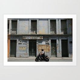 SE VENDE (grey house in Cali) Art Print