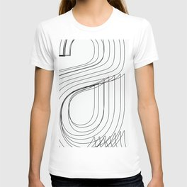 Helvetica Condensed 002 T-shirt