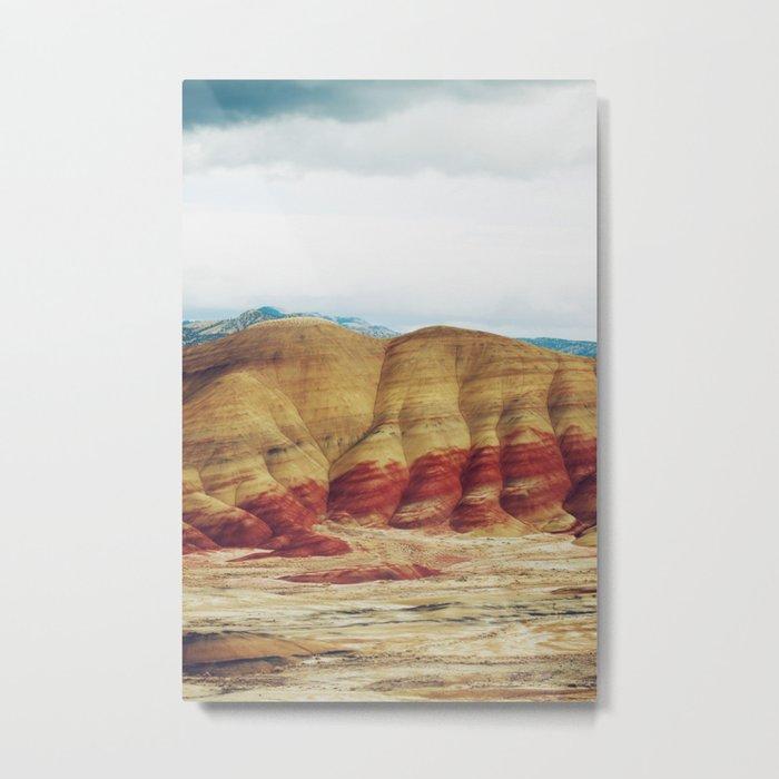 Painted Hills Metal Print
