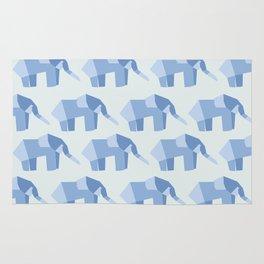 E is for Elephant  Rug