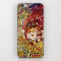 superheros iPhone & iPod Skins featuring BoooM by MelissaMoffatCollage
