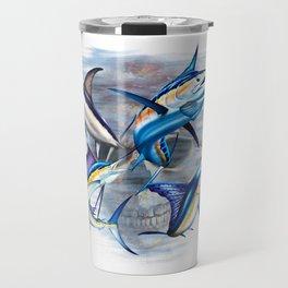 Canyon Masters Billfish Skull Design Travel Mug