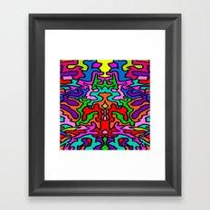 Pop Elisavet | Doodle Mandhala Framed Art Print