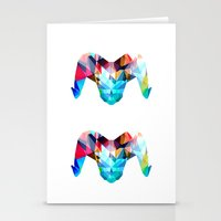 ram Stationery Cards featuring Ram by haroulita