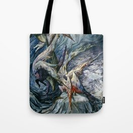 Guardian Angels by Dorothea Tanning Tote Bag
