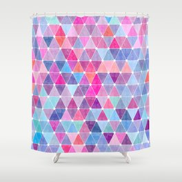 Lovely geometric Pattern Shower Curtain