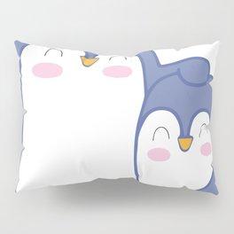 Cute Penguin Love Pillow Sham