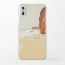 Beach Day - Ocean, Coast - Landscape Nature Photography Clear iPhone Case