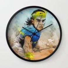 Rafa Nadal Wall Clock