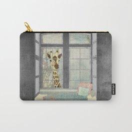 Bay Window Giraffe Carry-All Pouch