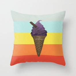 Icecream Throw Pillow