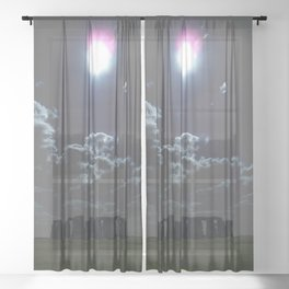 Stonehenge Sheer Curtain