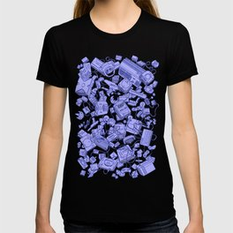 Retro Gamer - Blue T-shirt