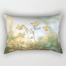 Forest Flowers Rectangular Pillow