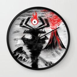 Eye of the Shadow Wall Clock