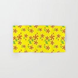 Doxie Flower - Dachshund Dog - Weiner Dog - Weenie Dog Hand & Bath Towel