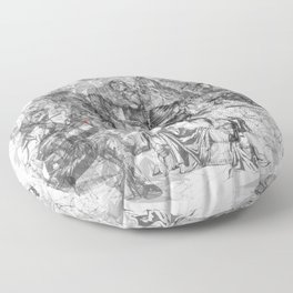 carré mystique Floor Pillow