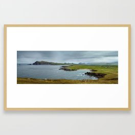 Slea Head Coast Framed Art Print