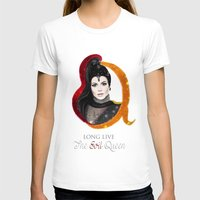 evil queen T-shirts featuring Regina, The Evil Queen by Clara J Aira
