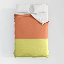 Peach Orange & Custard Comforters