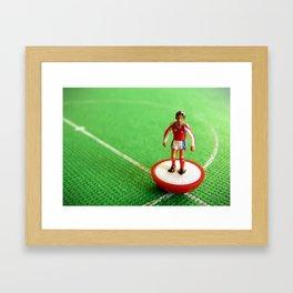 Arsenal Subbuteo Player 1989 Framed Art Print