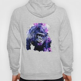 gorilla monkey face expression wscb Hoody