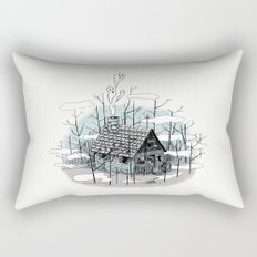 DEEP IN THE HEART OF THE FOREST Rectangular Pillow