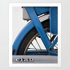 Ciao. Art Print