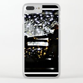 Starry Sky For The Cowboy In Montana Clear iPhone Case