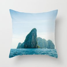 Island 2 Throw Pillow