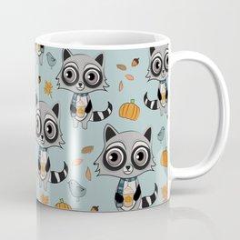 Coffee Lover Raccoon Coffee Mug