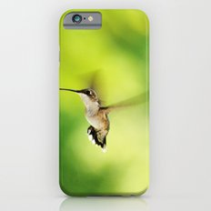 Hummingbird at the Flowers Slim Case iPhone 6s