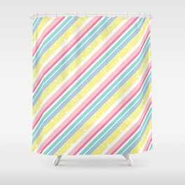 Party stripes Shower Curtain