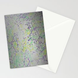 Easter Composition Water Marbling Stationery Cards