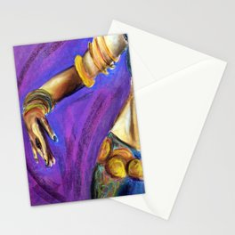Belly Dancer Stationery Cards