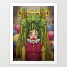 Happy Retirement, Frank Art Print