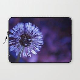Violet Dandelion Laptop Sleeve