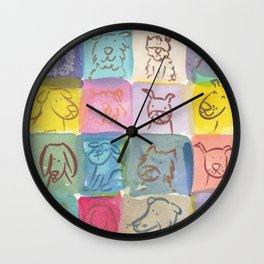 Doggies! Wall Clock