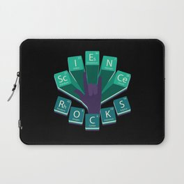Science Rocks Periodic System Chemistry Gift Laptop Sleeve