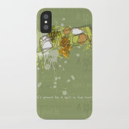 LUNCH LINE iPhone Case
