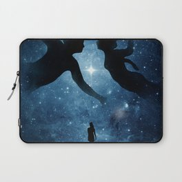 Touching the beauty of memories. Laptop Sleeve