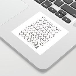 Fuuuuuuck Sticker