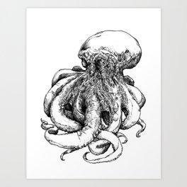 Octopus III Art Print
