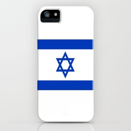 israeli flag iPhone Case
